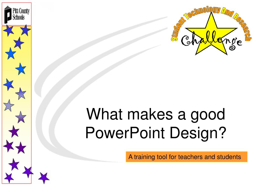 ppt what makes a good powerpoint design powerpoint presentation