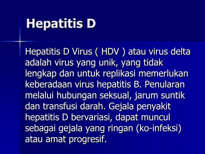 Hepatitis D