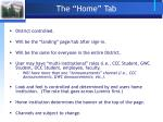 the home tab1
