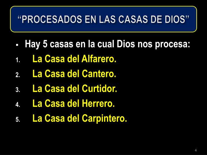 """""""PROCESADOS EN LAS CASAS DE DIOS"""""""
