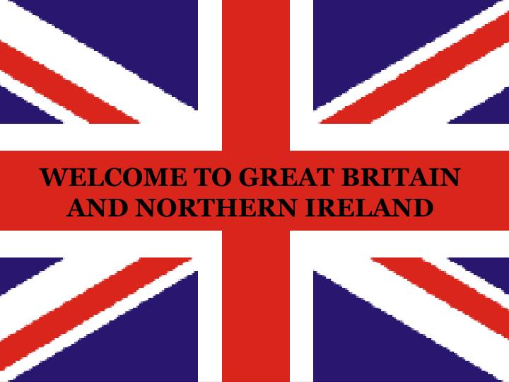 welcome to great britain and northern ireland n.