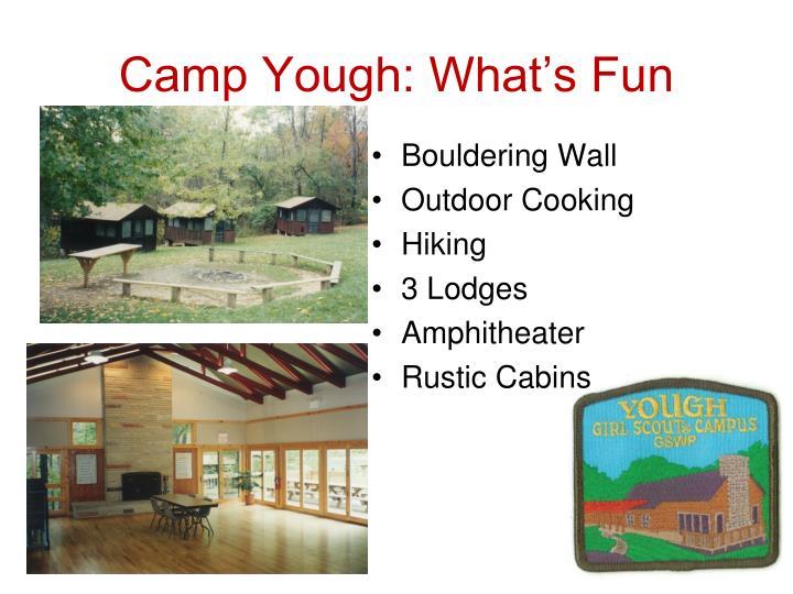 Camp Yough: What's Fun