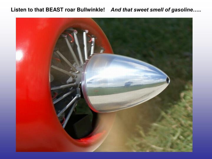 Listen to that BEAST roar Bullwinkle!