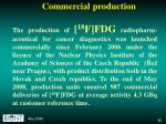 commercial production1