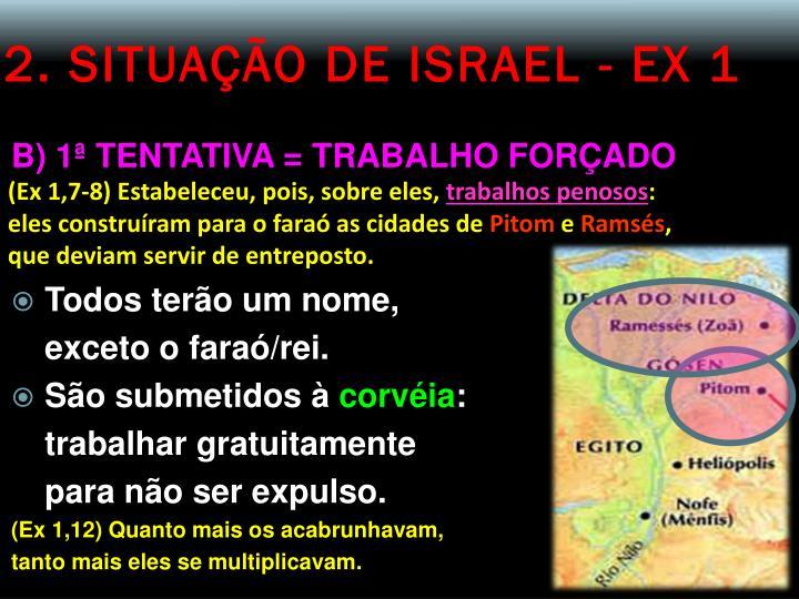 2. SITUAÇÃO DE ISRAEL - EX 1