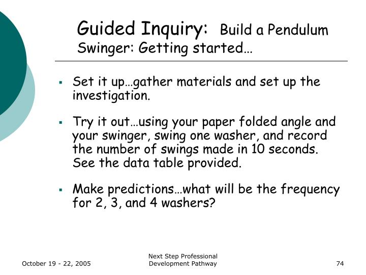 Guided Inquiry: