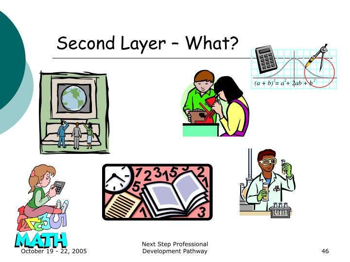 Second Layer – What?
