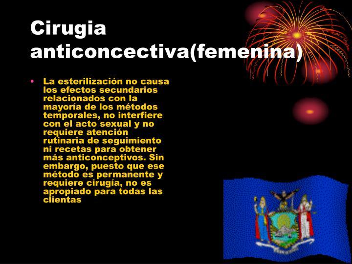 Cirugia anticoncectiva femenina1