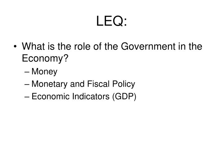 current economic conditions the role of fiscal Fiscal policy has a large influence over economic activity, through using the expansionary fiscal stance which involves a net increase in government as the howard government came into office, the stance of fiscal policy was largely contractionary a contractionary stance occurs when government.