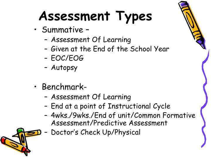 assessment type