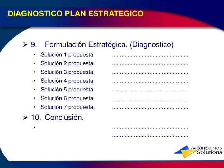 DIAGNOSTICO PLAN ESTRATEGICO