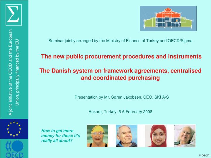 Seminar jointly arranged by the Ministry of Finance of Turkey and OECD/Sigma