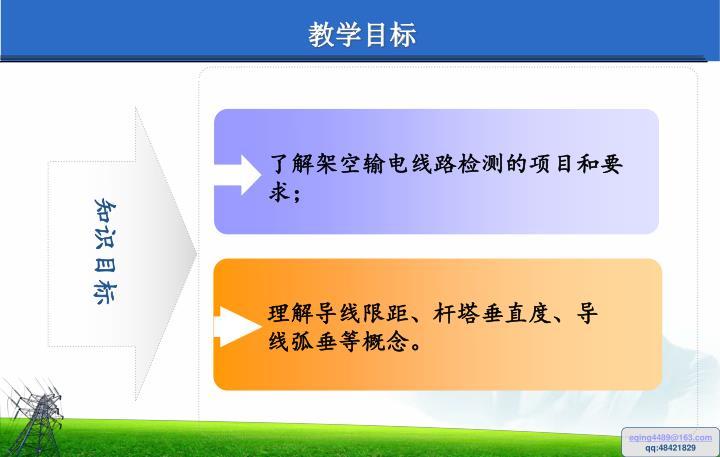 了解架空输电线路检测的项目和要求;