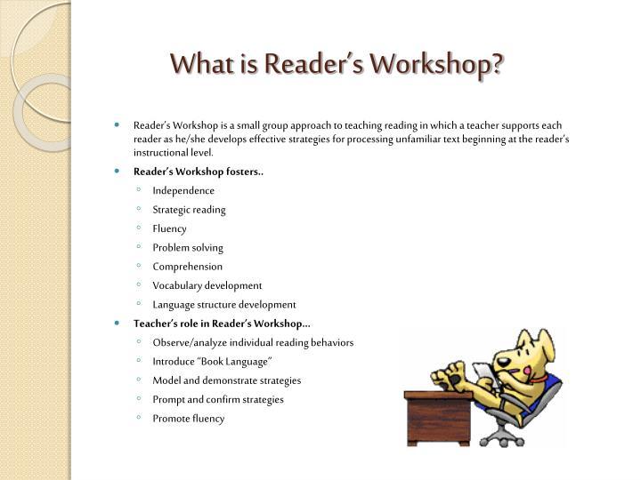 What is Reader's Workshop?