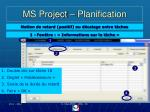 ms project planification2