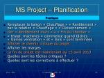 ms project planification60