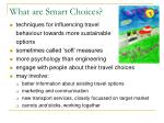 what are smart choices