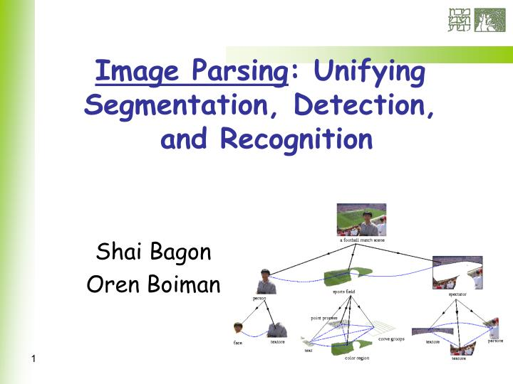 image parsing unifying segmentation detection and recognition n.