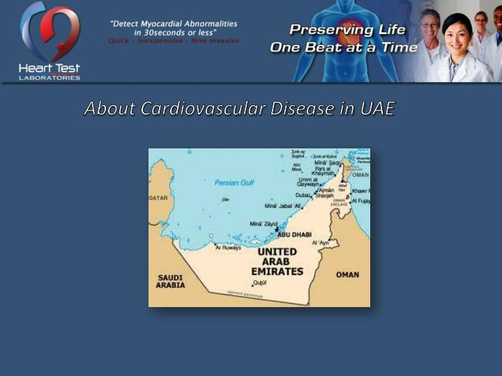 About Cardiovascular Disease in UAE