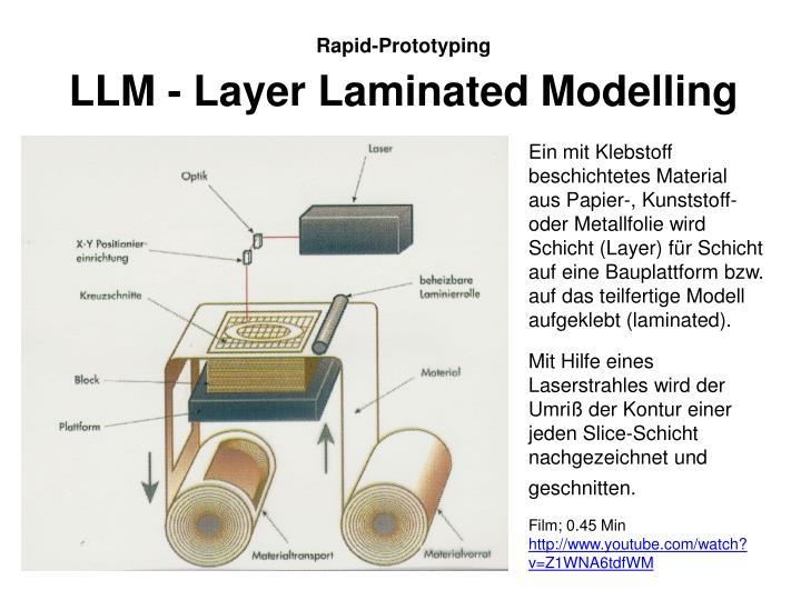 LLM - Layer Laminated Modelling