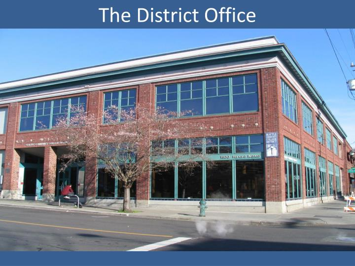the district office n.