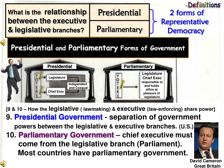 presidential form government Presidential vs parliamentary form of government by: dean pacifico agabin presidential i advantaged of the presidential form 1 since the president is directly elected by the people, he has a strong claim to democratic legitimacy.