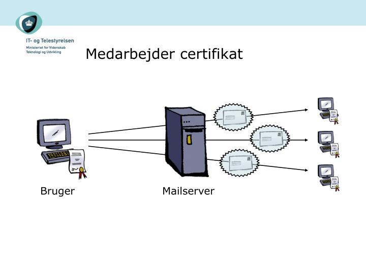 Medarbejder certifikat