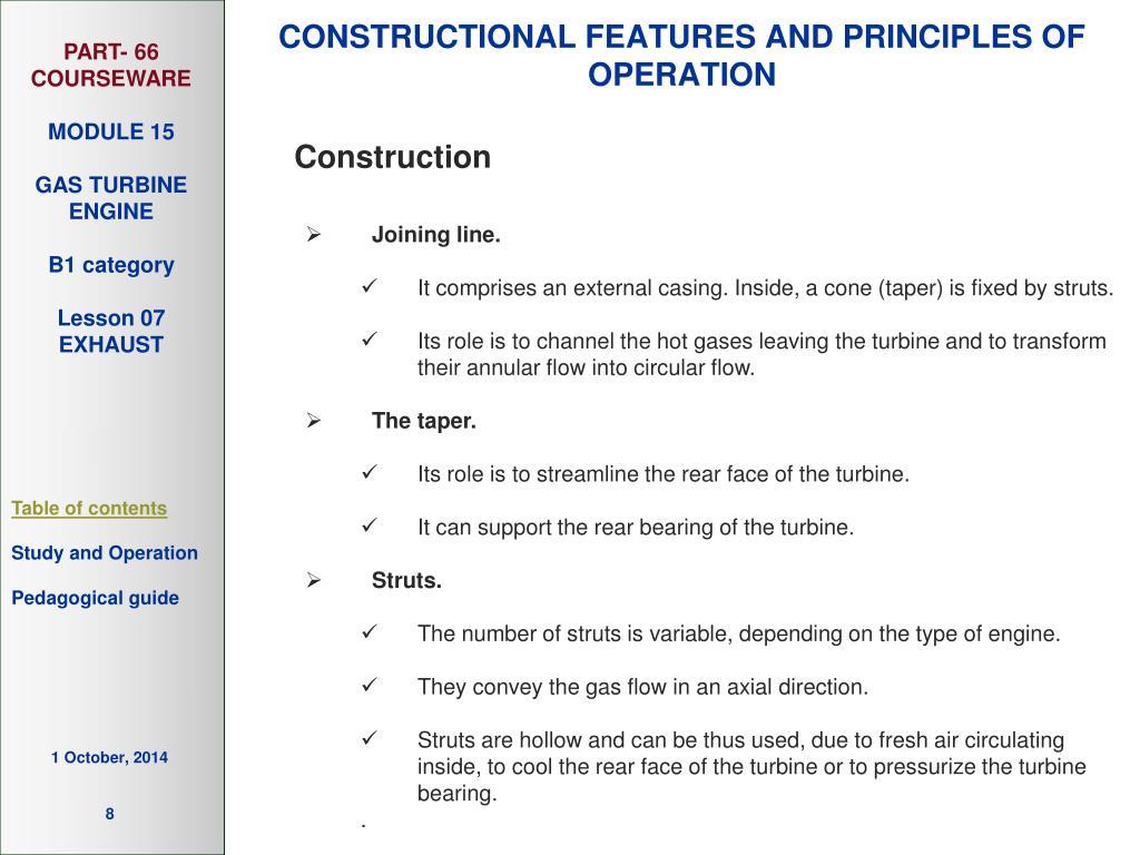 PPT - GAS TURBINE ENGINE PowerPoint Presentation - ID:5038761