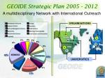 geoide strategic plan 2005 2012