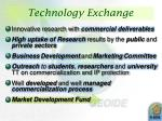 technology exchange