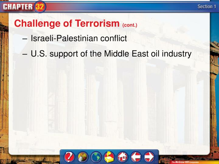 Challenge of Terrorism