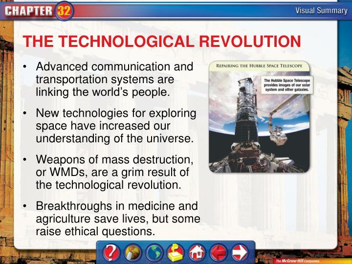 THE TECHNOLOGICAL REVOLUTION