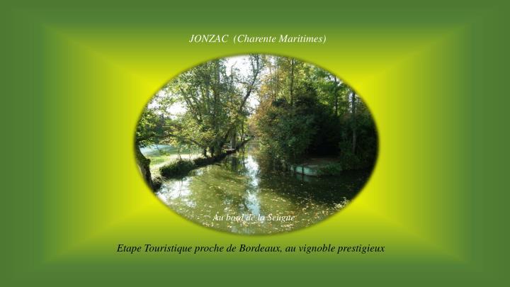 JONZAC  (Charente Maritimes)