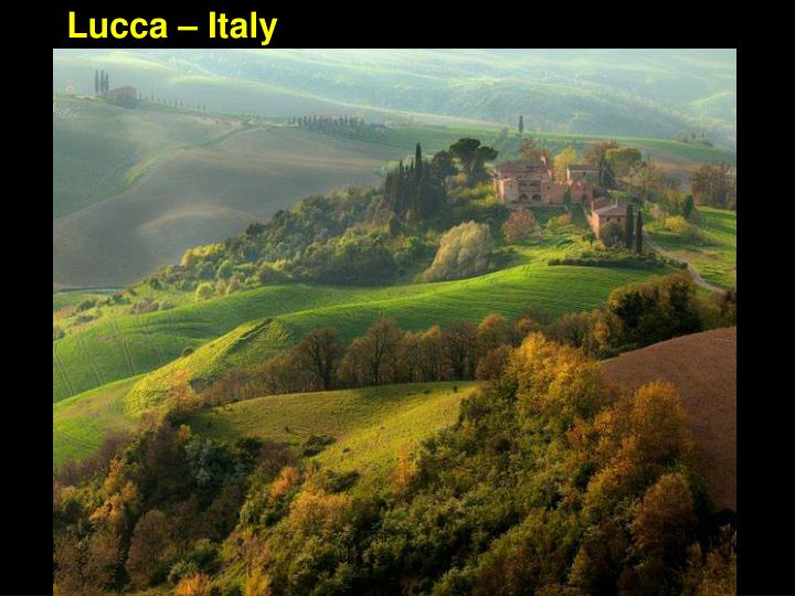 Lucca – Italy