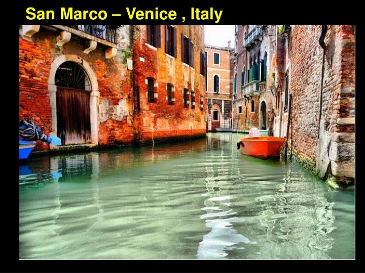 San Marco – Venice , Italy