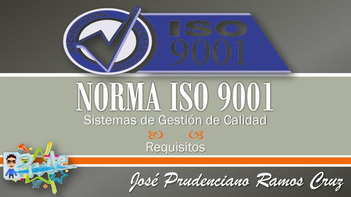 norma iso 9001 n.