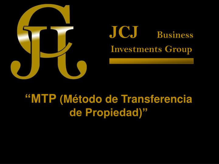 jcj business investments group