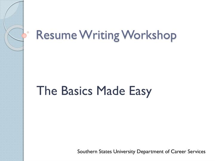 easy resume writing Professional resume & cv writing services with result resume jar is a world-class provider of career writing and documentation services our talented staff of professional writers have extensive experience in the field of writing resumes and cvs for virtually every industry, including sales, project & program management, information technology, software development, healthcare, government.