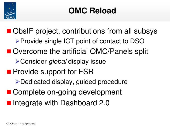 OMC Reload