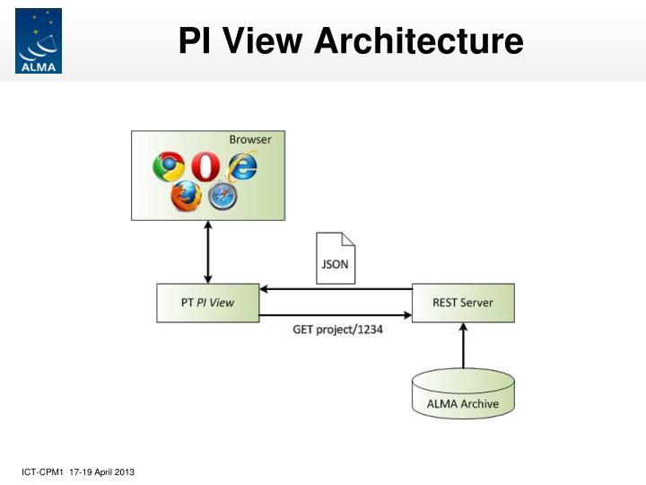 PI View Architecture