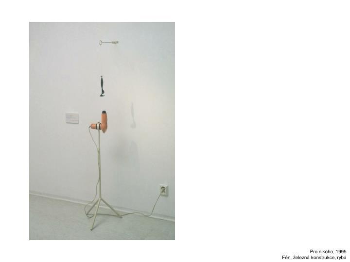 Pro nikoho, 1995