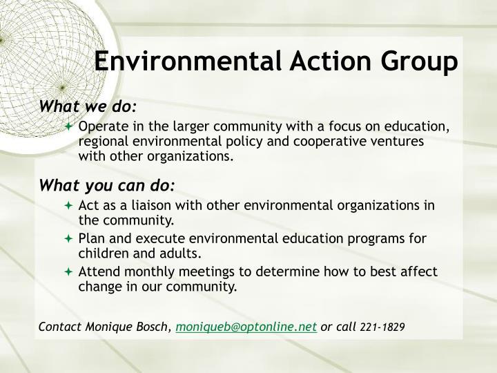 Environmental Action Group