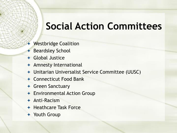 Social action committees