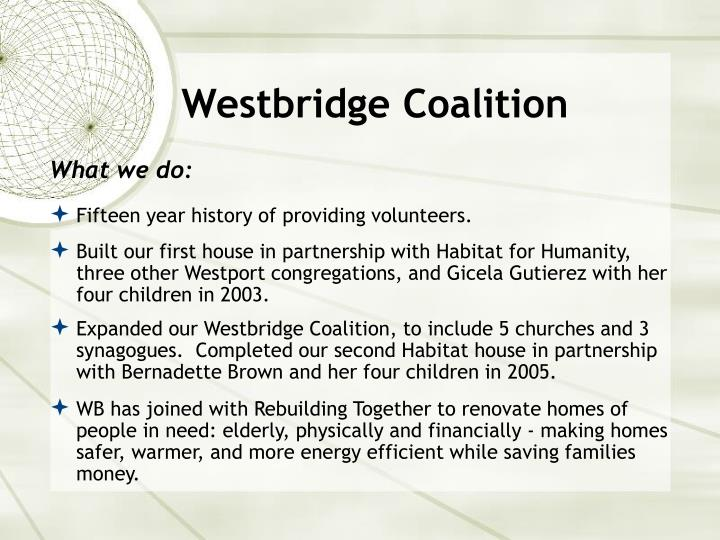 Westbridge Coalition