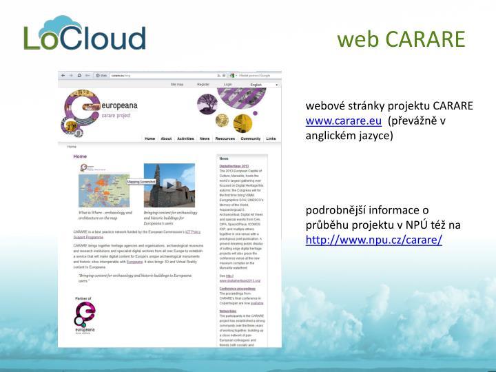 web CARARE