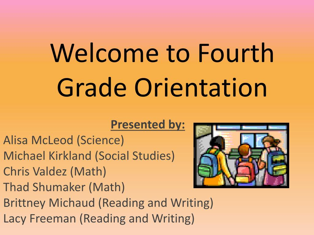 Reading and social studieswelcome to 4th grade student