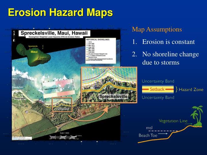 Erosion Hazard Maps