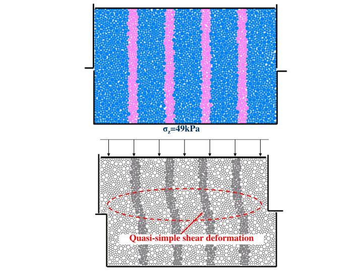 Quasi-simple shear deformation