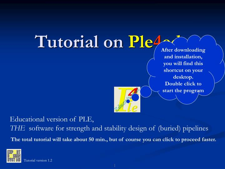 tutorial on ple 4 edu n.