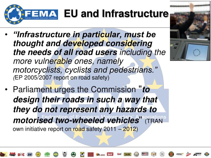 EU and Infrastructure